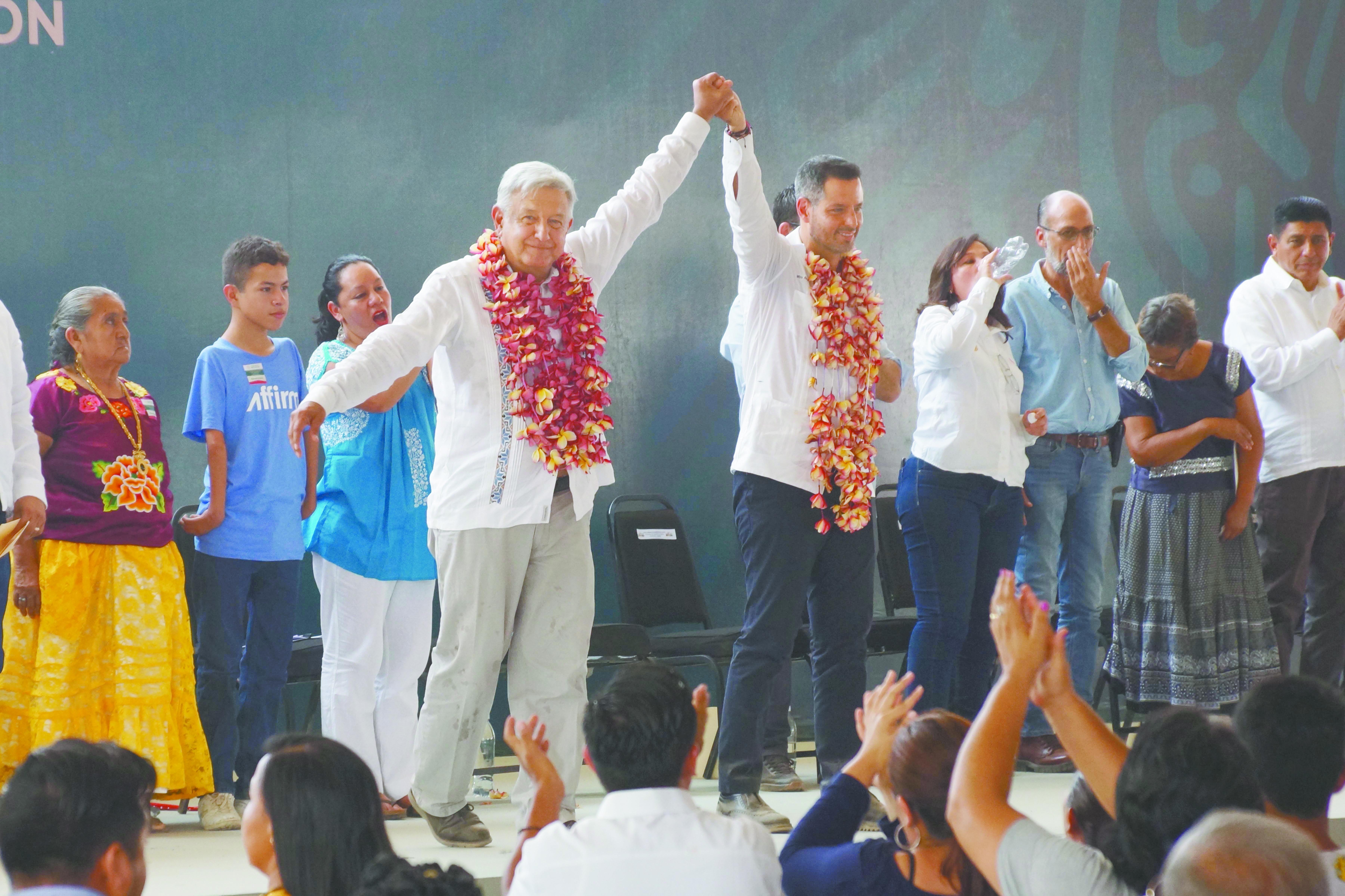 Las consultas sobre los proyectos del Istmo de Tehuantepec se realizaron a mano alzada.