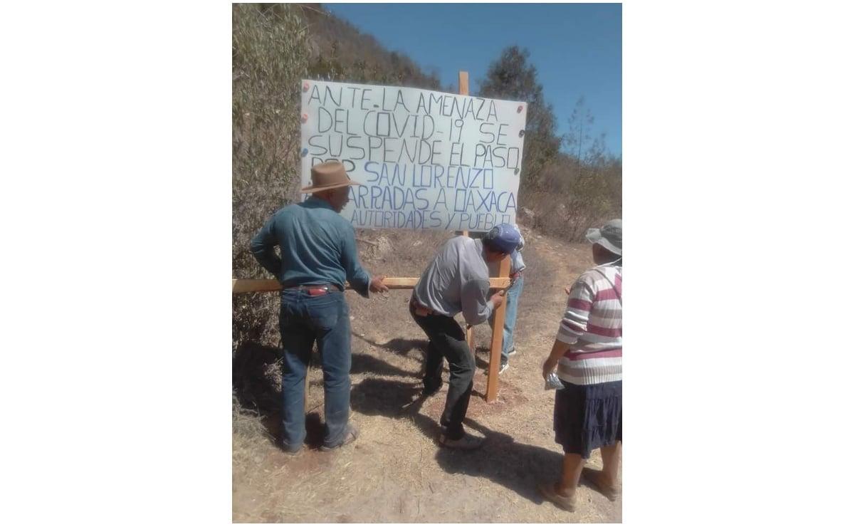 Comunidades indígenas de Oaxaca realizan toque de queda nocturno ante Covid-19