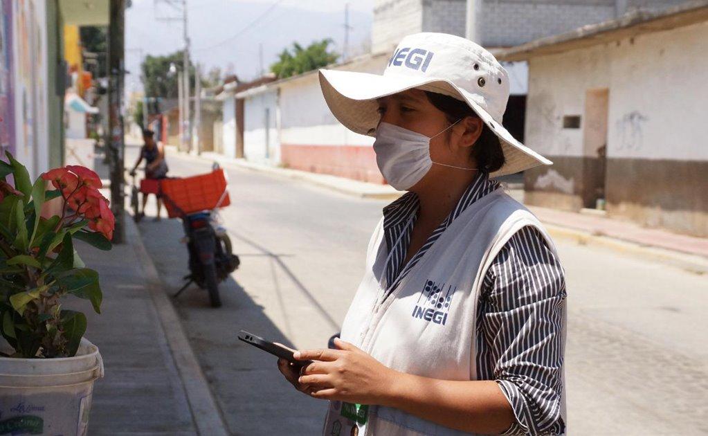 Da positivo encuestador del Inegi a coronavirus; están en cuarentena 25 entrevistadores y supervisores más