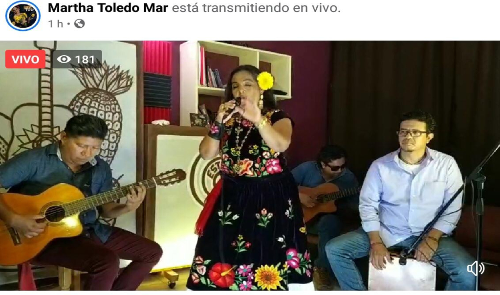 En cuarentena, artistas zapotecos ofrecen conciertos desde plataformas en línea