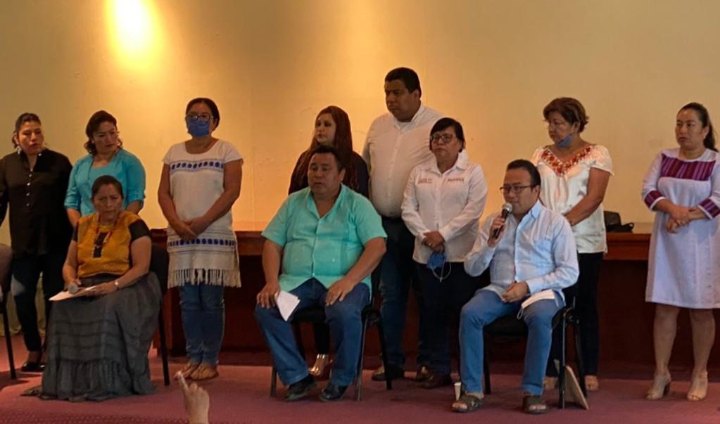 Plan de rescate económico deja fuera a oaxaqueños en el sector informal: diputados de Morena