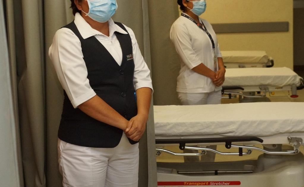 Derechos Humanos en Oaxaca pide seguridad para personal médico ante pandemia