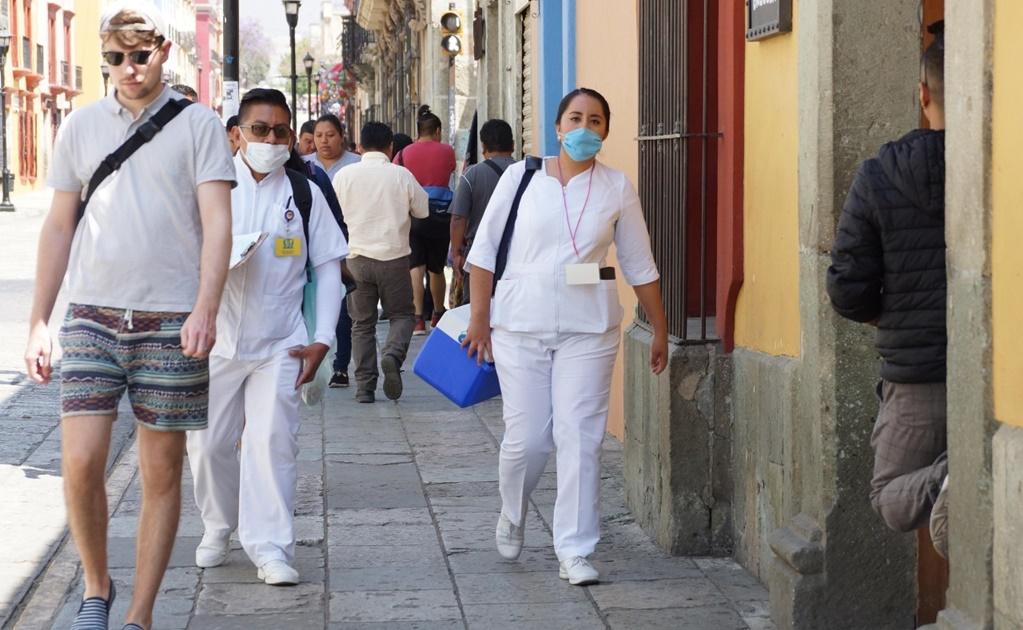 Estudiantes deciden continuar su servicio en hospitales de Oaxaca aun en contingencia por Covid-19