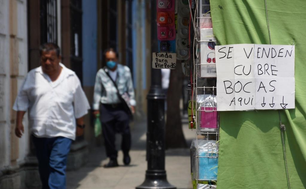 Uso de tapabocas será obligatorio en Oaxaca en fase 3 de la pandemia