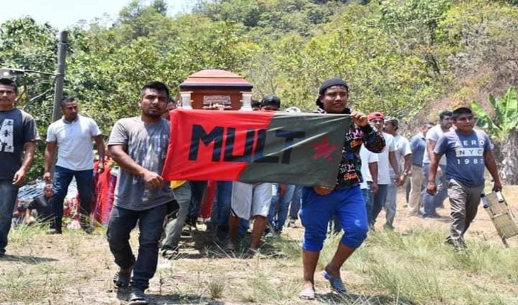 Exige MULT a autoridades investigar crimen de dos de sus militantes