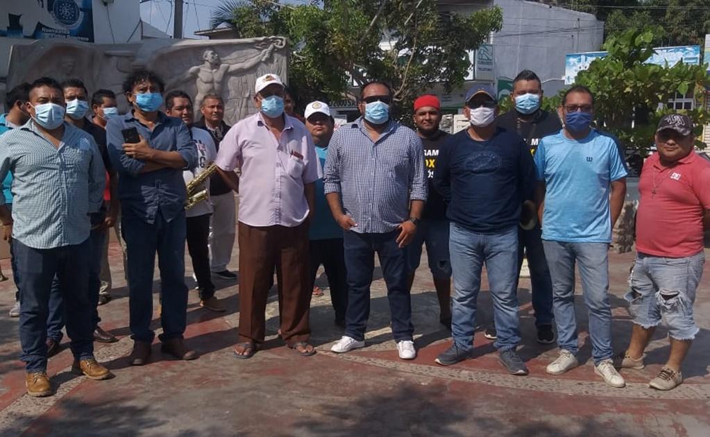 Piden músicos de Juchitán apoyo para sobrevivir en la contingencia
