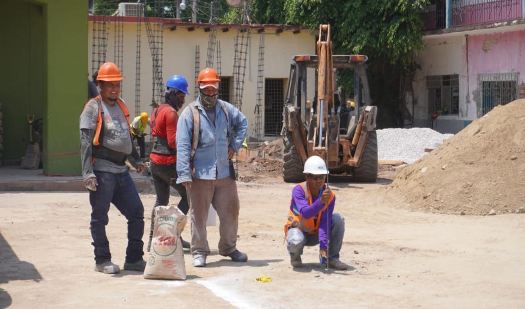 Comienza construcción del palacio municipal de Ixtaltepec a 2 años y medio de terremoto del 7-S