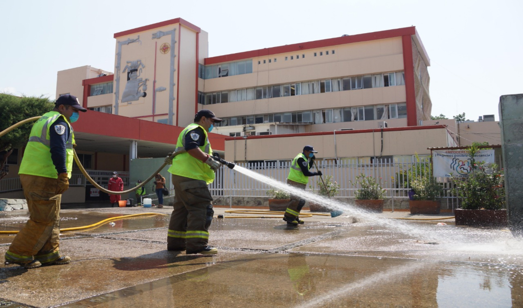 Hospital civil de Oaxaca no es hospital Covid-19; personal canalizará pacientes sospechosos: SSO