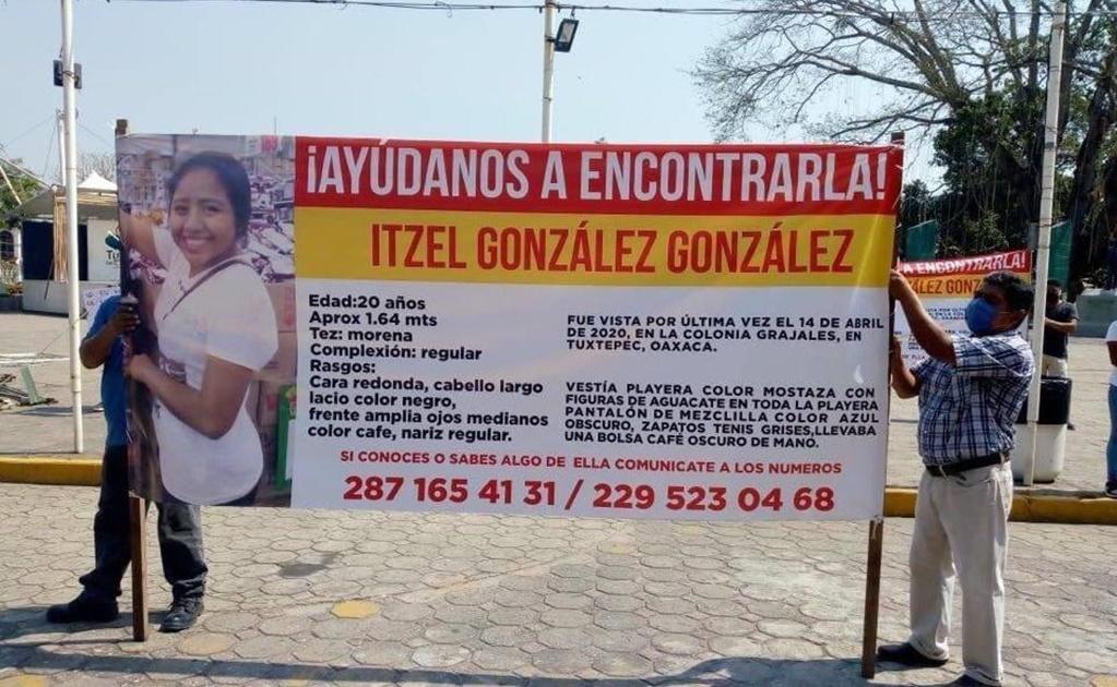 """Con """"sana distancia"""", en Tuxtepec piden justicia para Itzel, joven desaparecida durante cuarentena"""
