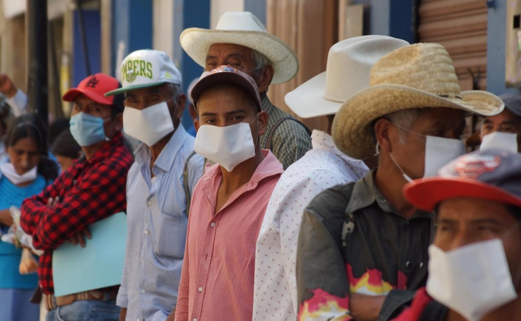Llega Oaxaca a 87 casos de Covid-19; niña de 3 años, novena víctima mortal