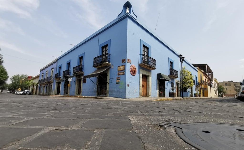 Con calles vacías y festejo virtual celebra la ciudad de Oaxaca su 488 aniversario