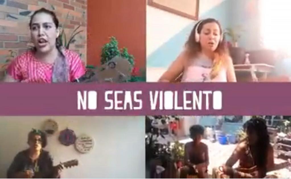 """""""Colás en tiempos de Covid-19"""", con son feminista buscan detener violencia contra las mujeres en cuarentena"""