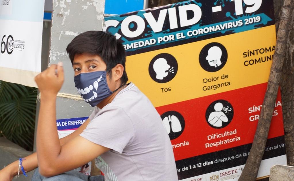 Oaxaca registra 130 casos confirmados  de Covid-19 y alcanza 18 defunciones
