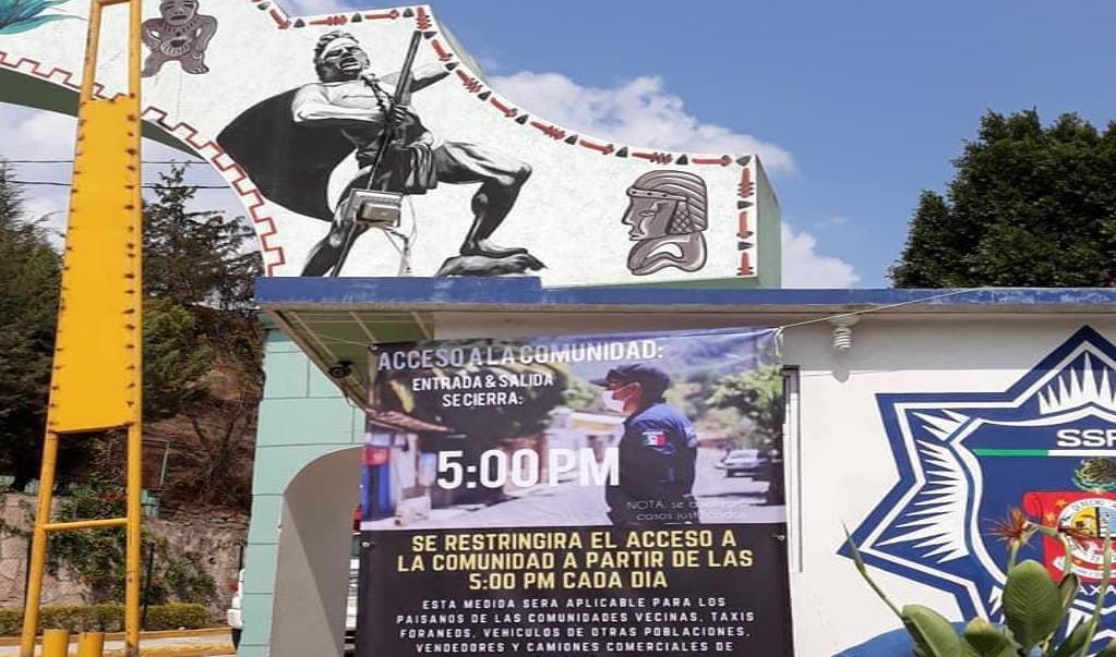 Por pandemia, 147 municipios de Oaxaca han restringido accesos