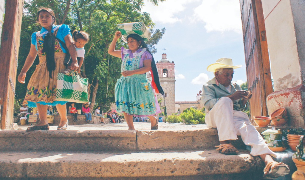 Oaxaqueña regresa de EU para traducir mensajes contra coronavirus en lenguas originarias