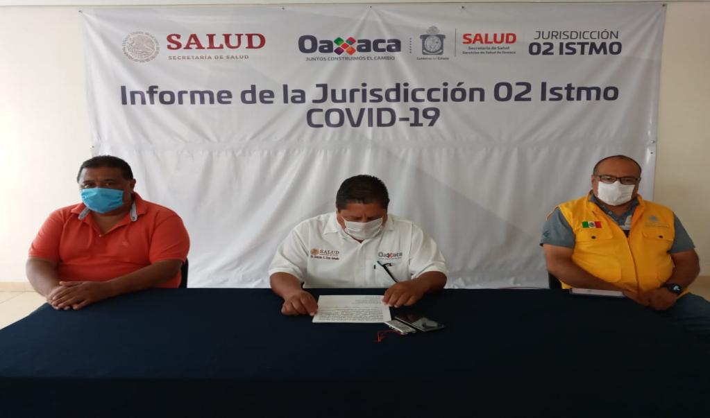 Ante acelaración de contagios de Covid-19 en el Itsmo, piden fortalecer medidas preventivas