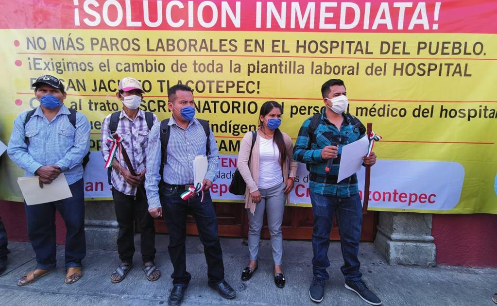 Comunidad chatina exige atención médica digna; acuerdan clausura simbólica de Hospital Básico