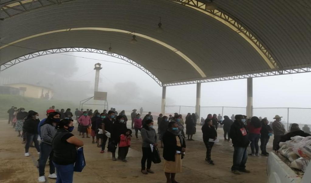Reportan primer defunción por Covid-19 en Huautla de Jiménez; refuerzan acciones de sanitización