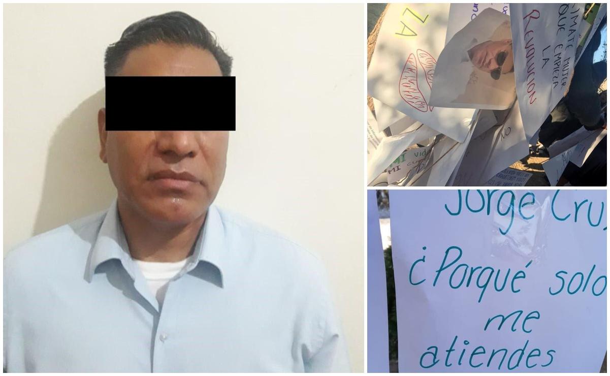 En el Día del Maestro, arrestan a profesor denunciado por acosar a alumnas del Cobao