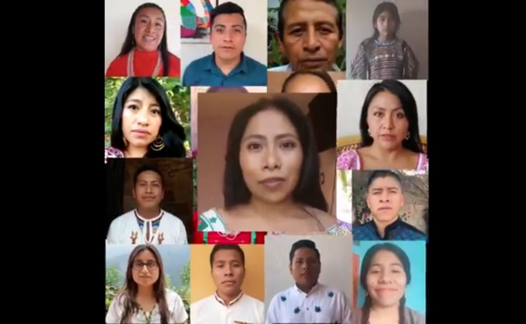 Yalitza Aparicio comparte medidas contra Covid-19 junto a intérpretes de lenguas indígenas