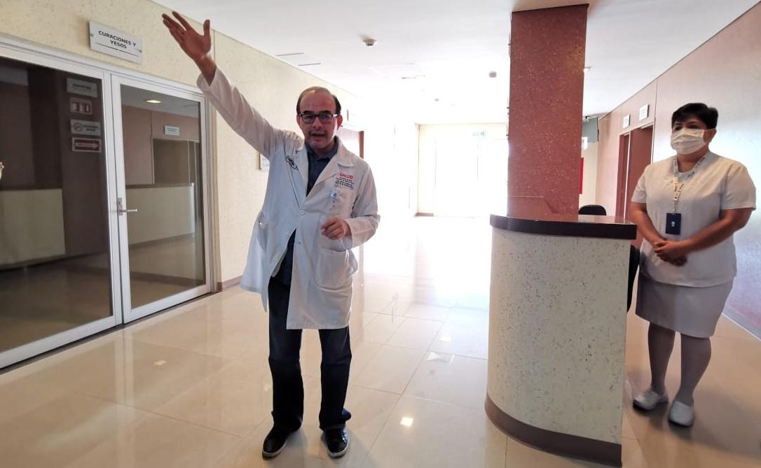 Suman 75 contagios de Covid-19 entre personal médico de Oaxaca