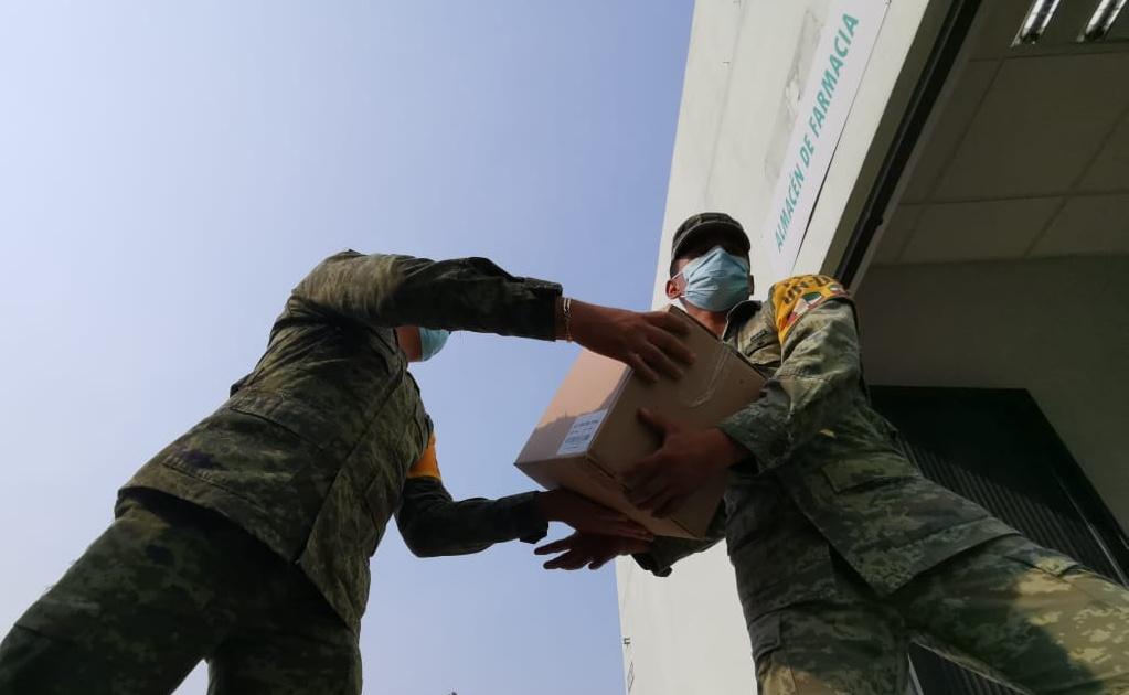 Sedena entrega 6.5 toneladas de insumos para hospitales Covid-19 en Oaxaca