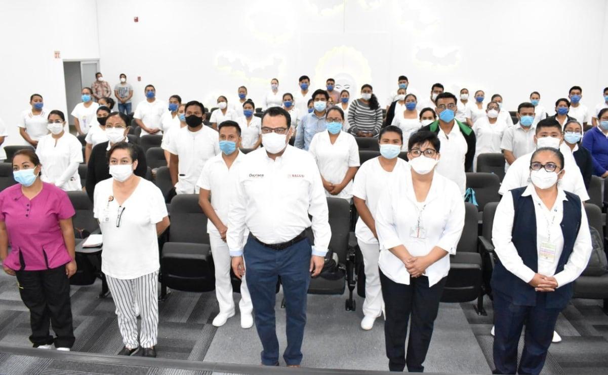 Capacitan a personal médico que atenderá 40 camas para Covid-19, ante llegada del pico de pandemia