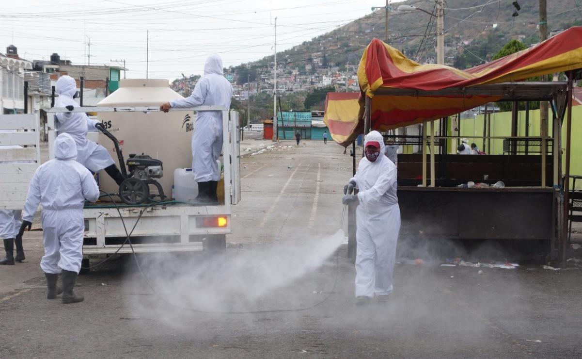 Ante avance de pandemia de Covid-19, por primera vez cierra durante tres días la Central de Abasto