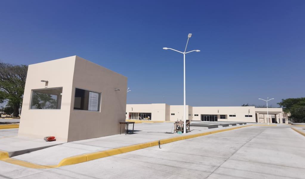 Este lunes arranca operaciones hospital que atenderá Covid-19 en Juchitán; está a cargo de Sedena