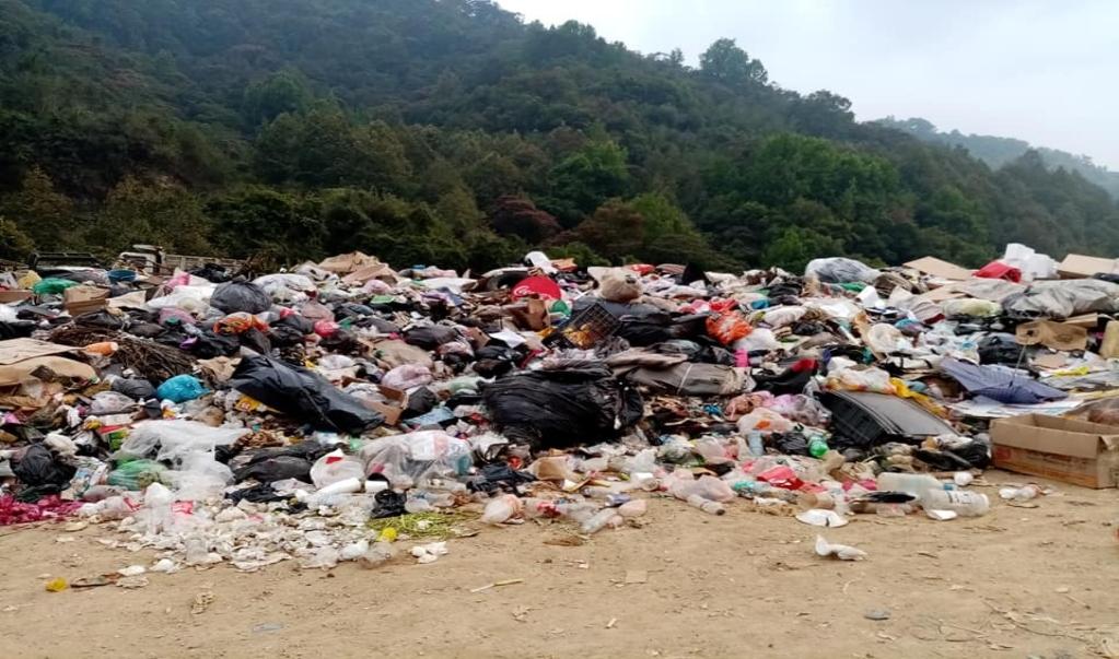 Basura amenaza ecosistema en Huautla; en plena pandemia, no hay donde tratar desechos