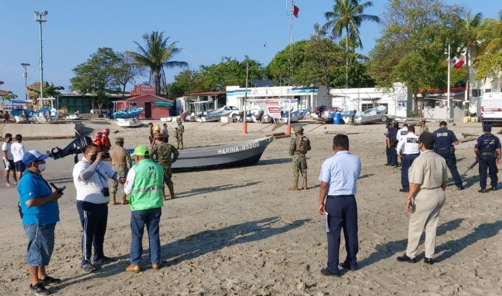 Localizan cuerpo de estadounidense desaparecido frente al faro de Puerto Escondido