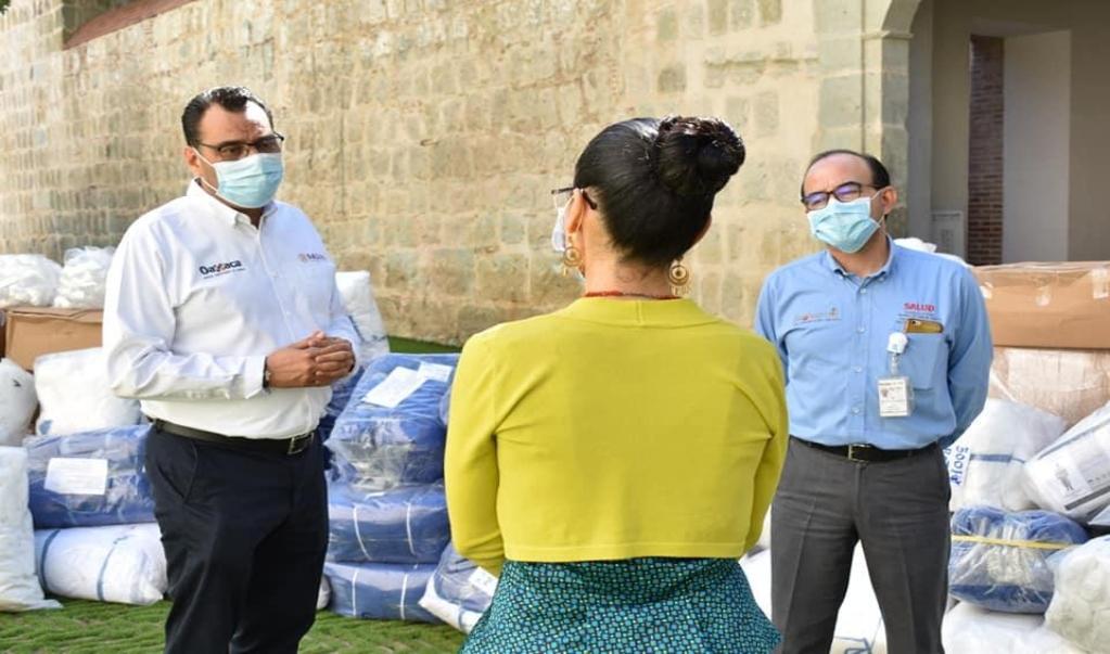 Agradecen SSO donaciones de equipo e insumos para quienes combaten la pandemia