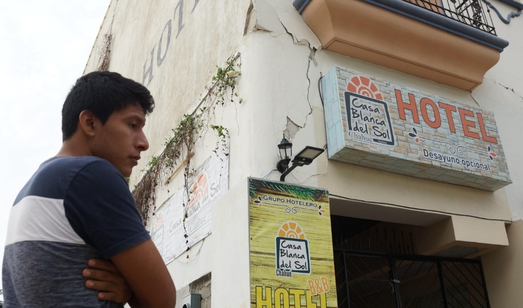 Huatulco: sismo golpea a hoteles de un paraíso ya lastimado por la pandemia
