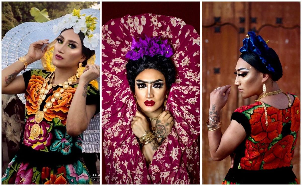 Conoce a Amitaí, drag queen oaxaqueña que enaltece la identidad cultural del Istmo