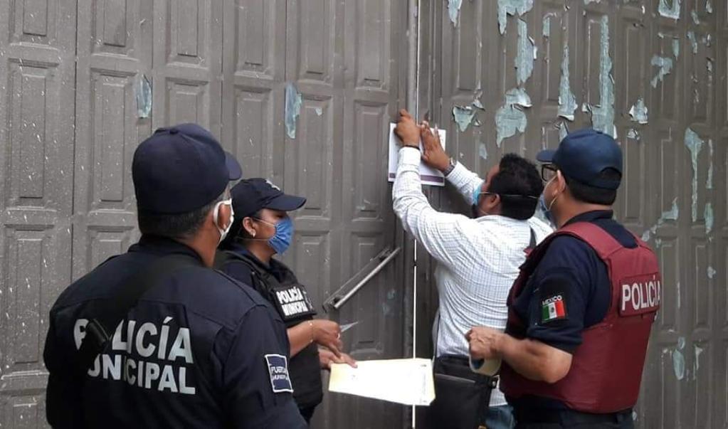 Clausuran salones de fiesta en Juchitán tras romper cuarentena antes de tiempo