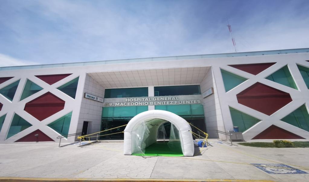 Cerrarán 3 días Hospital General de Juchitán para sanitizarlo, tras brote de 20 contagios de Covid-19
