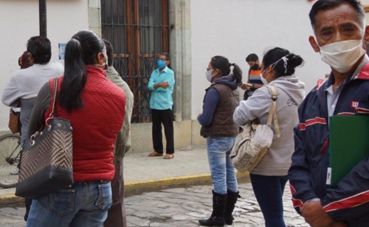 Acumula Oaxaca 289 contagios por Covid-19 en el día; llega a 682 fallecimientos
