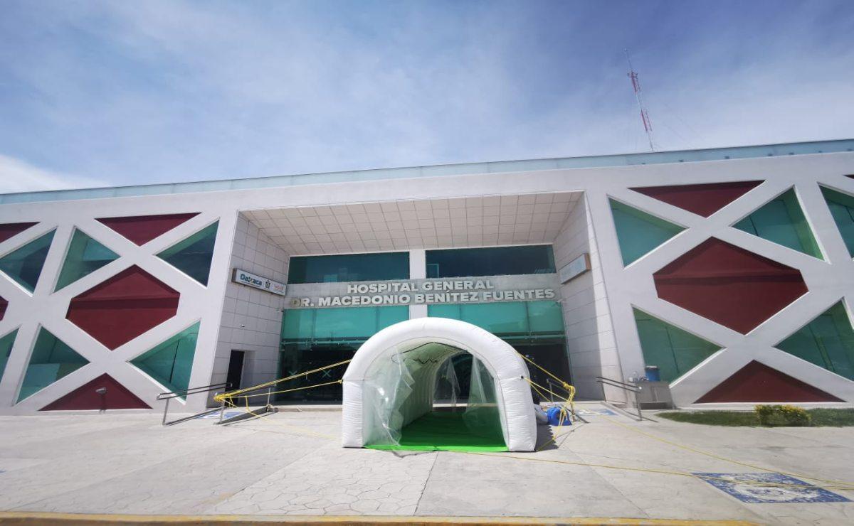 Reabre Hospital de Juchitán tras brote de Covid -19; aplicarán pruebas rápida a personal