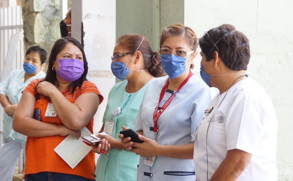 Suman mil 308 casos de Covid-19 entre trabajadores de Salud; faltan médicos, advierte Susana Harp