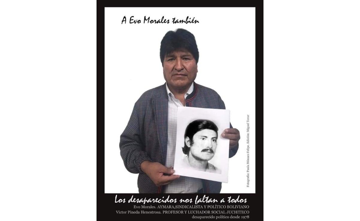 Evo Morales se suma a exigencia de justicia por la desaparición de Víctor Yodo, hace 42 años