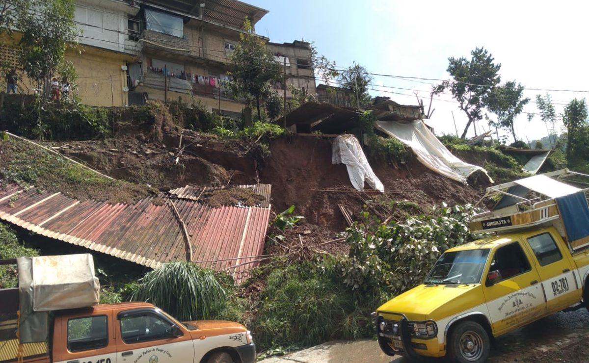 En emergencia, 10 municipios de la Cañada tras fuertes lluvias
