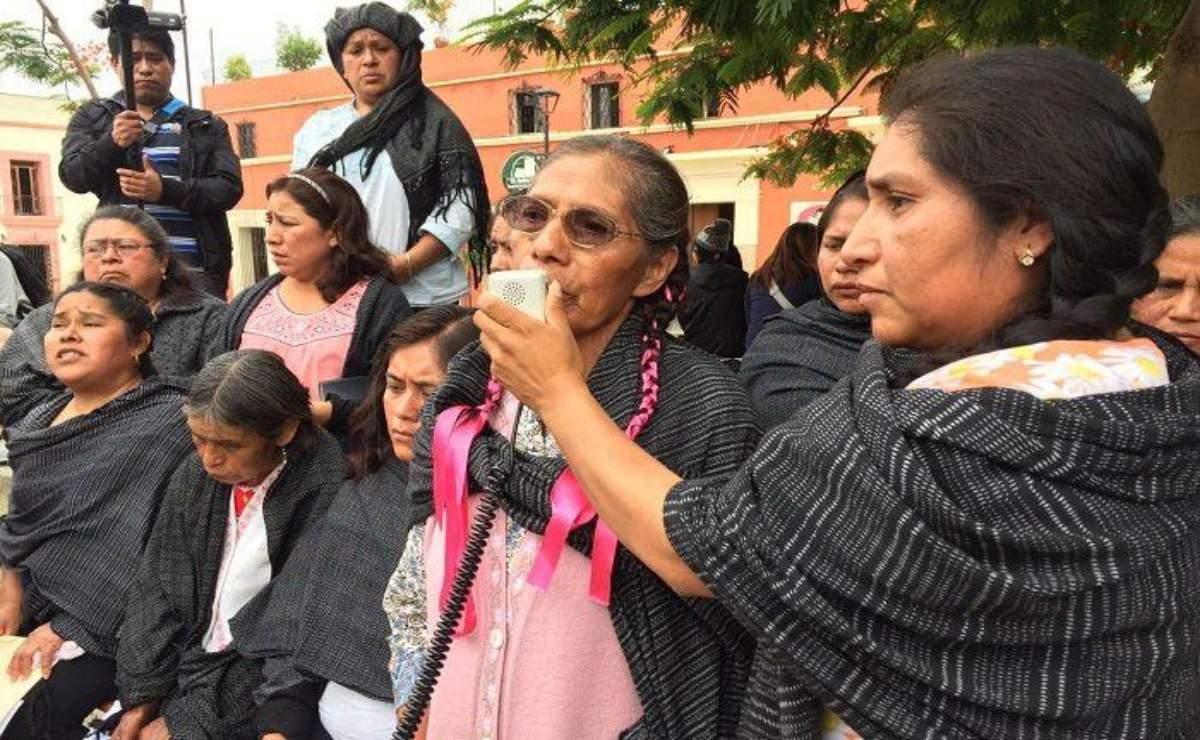 María Elena Ríos pide justicia para mujeres de Ayutla Mixe, a 3 años de su secuestro
