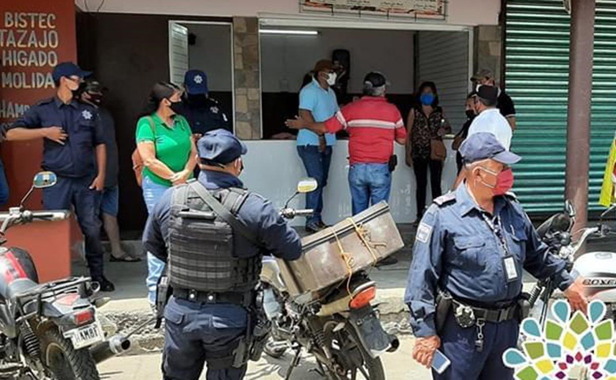 Multarán con 300 pesos a quien no use cubrebocas en Loma Bonita
