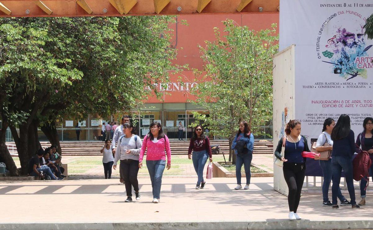 UABJO pospone exámenes de admisión para ciclo escolar 2021, por pandemia de Covid-19