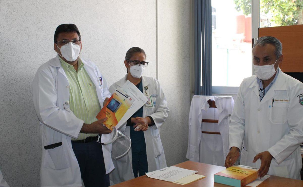 Lanzan Hospital Civil programa para comunicar a pacientes aislados por Covid-19, con sus familiares