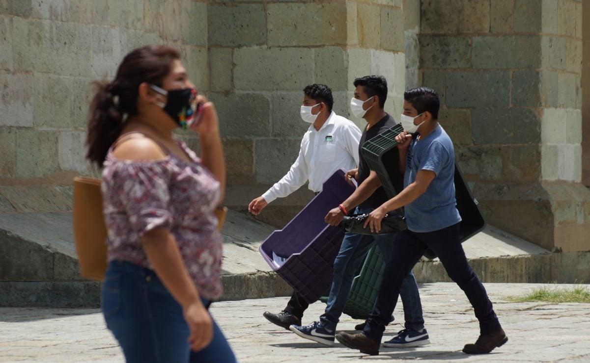 Suman 8 mil 151 contagios por coronavirus en Oaxaca, y 784 muertes