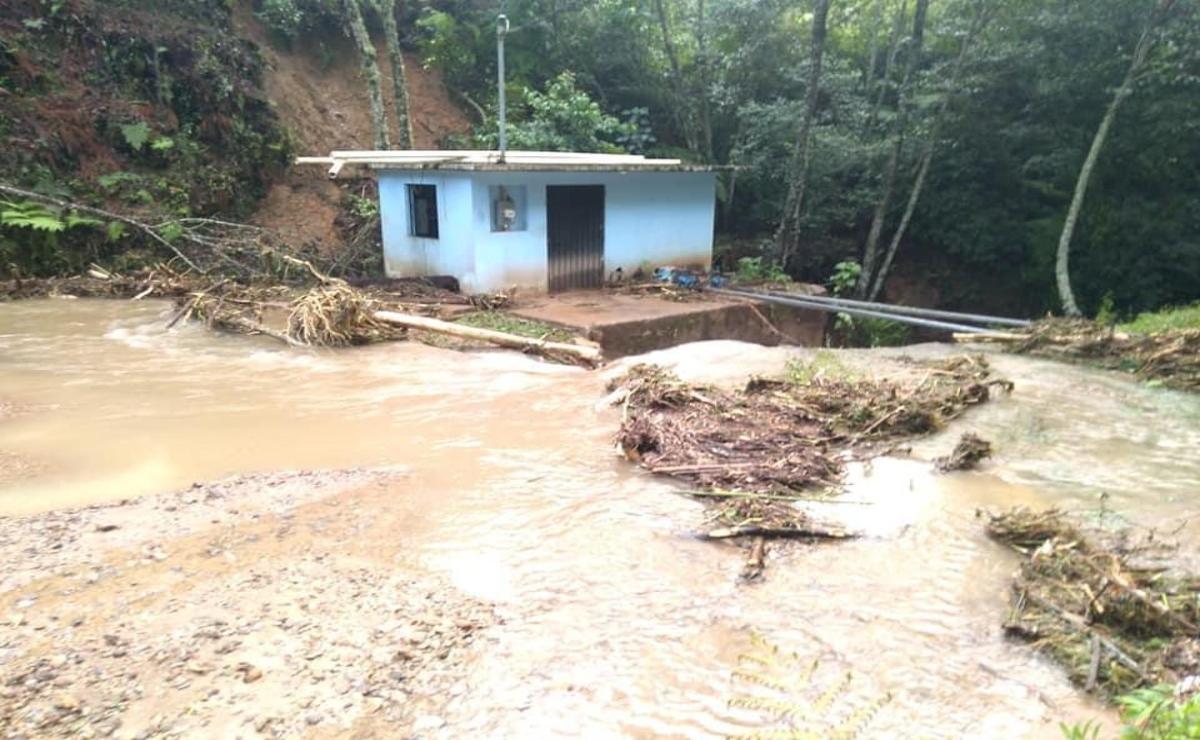 Emiten Declaratoria de Emergencia para 6 municipios de la Cañada, tras fuertes lluvias