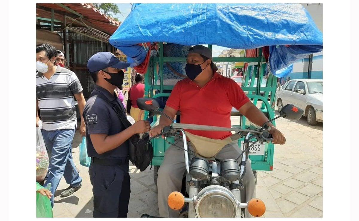 Tehuantepec también decreta uso obligatorio de cubrebocas y multas a quien no cumpla