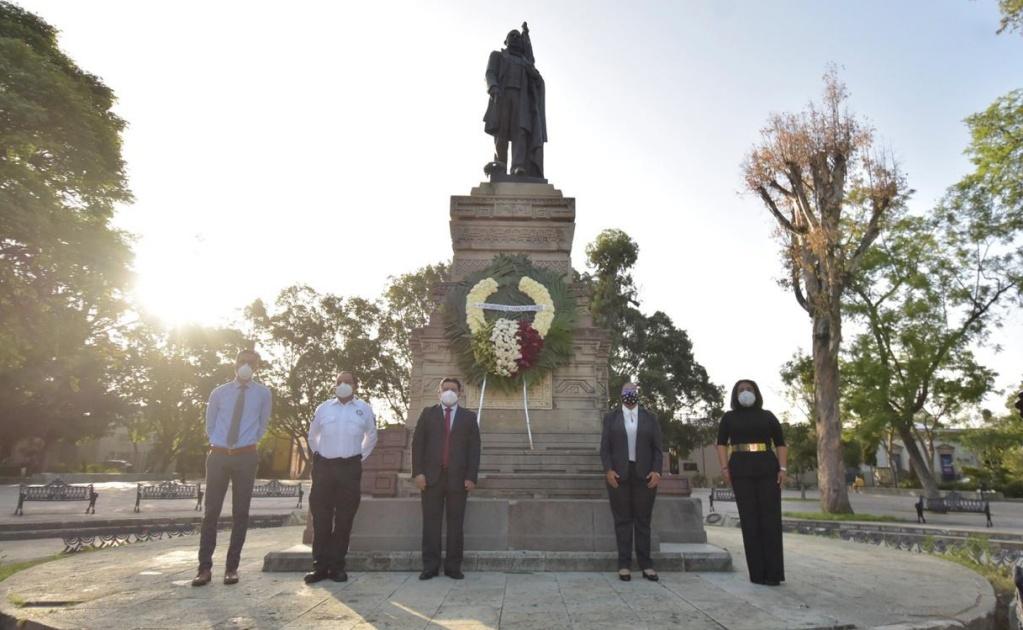 Rinden en la capital homenaje a Benito Juárez en su 148 aniversario luctuoso