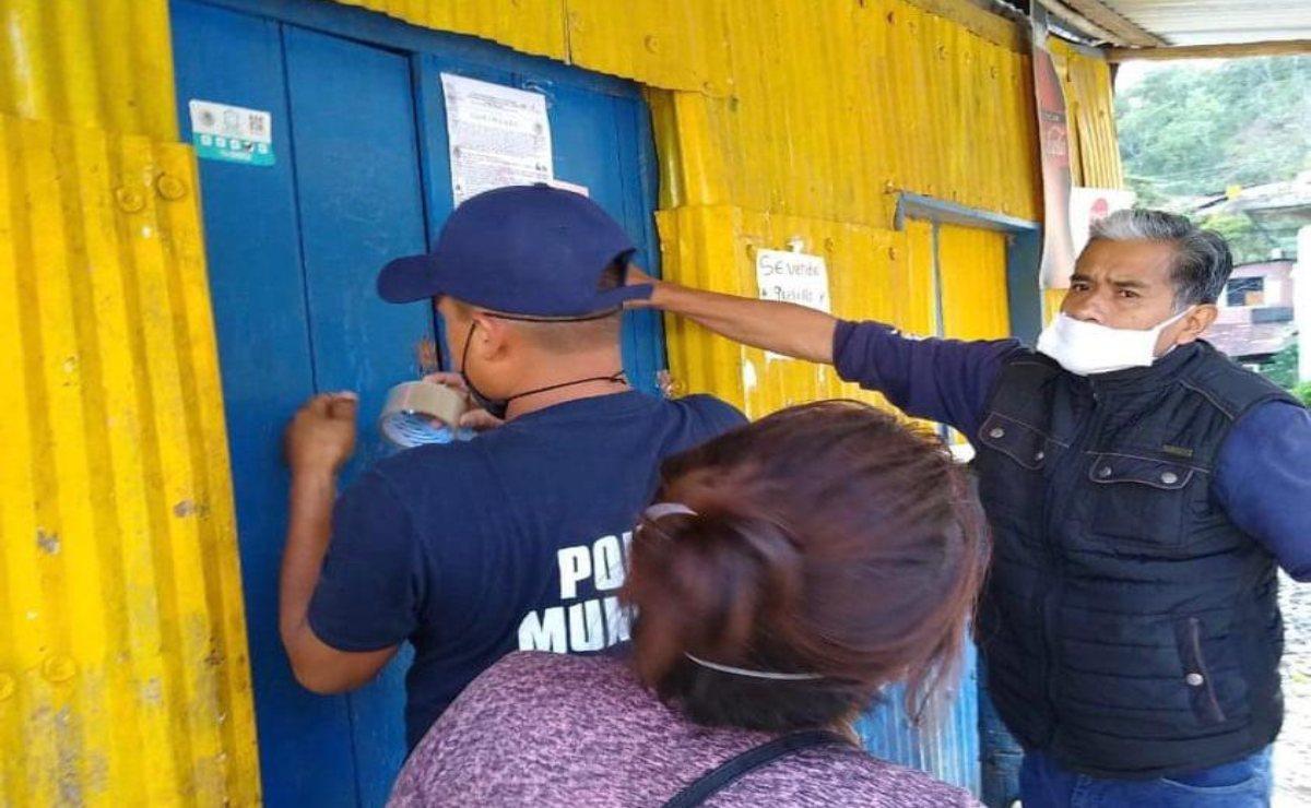 Por aumento de Covid-19 en la Cañada, Acatepec prohibe paso a transportistas y refresqueras